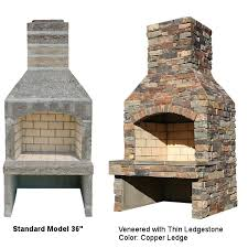 outdoor fireplace kits south county