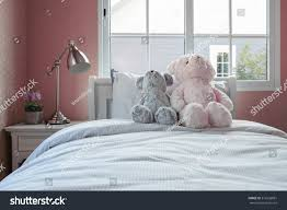 Kids Room Dolls Pillows On Bed Stock Photo Edit Now 316536881