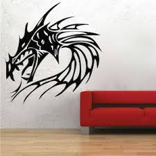 Fire Dragon Head Wall From Trendy Wall Designs