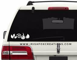 Elements 5 Decal Irish Fox Creations