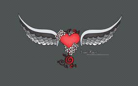 very cool heart shaped theme design