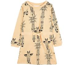 mini rodini ls sweat dress totem
