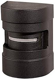 Dekor Holly Led Deck Rail Light For Fence Posts Railings Wall Lighting Outdoor Low Voltage Antique Metal Black Amazon Com