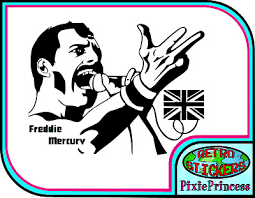 Bumper 2x Freddie Mercury Stickers Decal 6 X 3 5 For Laptop Window Ect Wall Archives Midweek Com