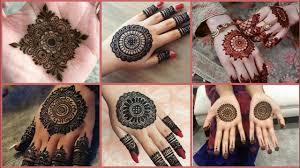 mehndi design for bunch