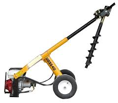 Post Hole Borers Post Drivers Hire Outdoors Ground Preparation