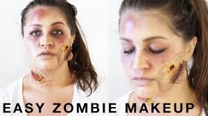 halloween easy zombie makeup tutorial