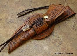 leather tooled knife sheath google