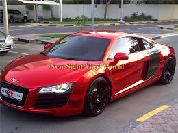 Best Quality Stretchable Red Chrome Vinyl Wrap Film Car Decal Air Free Bubble Car Sticker Wrap Film Red Chrome Vinyl Wrapcar Decal Aliexpress