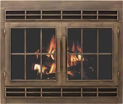 fireplace glass doors fireplace and