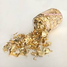 Gold Nail Flakes Decal The Additude Shop