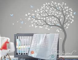Wall Decals Nursery Kids Tree Large Tree Wall Decal Wall Mural Etsy