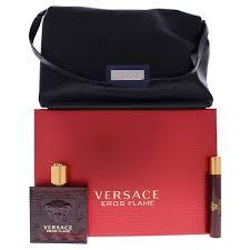 versace eros flame edp 100ml 3 piece