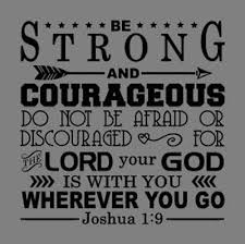 Joshua 1 9 Bible Verse Vinyl Wall Stickers Decals Scripture Quote Decor Home Art Ebay