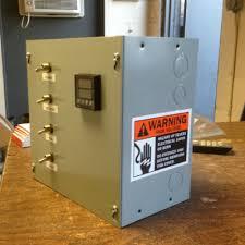 economy electric powder coat ovens