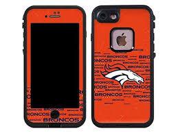 Nfl Denver Broncos Lifeproof Fre Iphone 7 Skin Denver Broncos Orange Blast Vinyl Decal Skin For Your Fre Iphone 7 Newegg Com