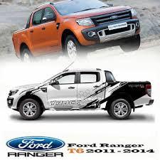 Cover Sticker Vinyl Black Color Car Decal 4 Doors For Ford Ranger T6 2012 14 216 79 Picclick