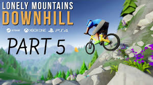 lonely mountains downhill gameplay