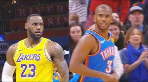 Lakers vs Thunder Full Game Highlights ...