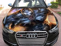Vinyl Car Hood Full Color Graphics Decal Venom Amazing Spider Man Sticker Ebay