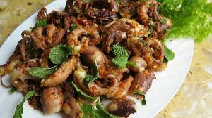 Cooking Octopus With Sweet Chili Sauce ...