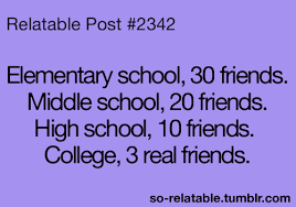 friends college friendship high school life quotes teen quotes
