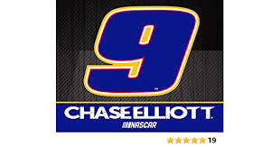 R And R Imports Chase Elliott 9 Nascar 5x6 Inch Decal Single Amazon Com