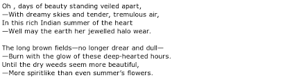 Ada Foster Murray Poems > My poetic side