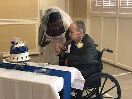 man in hoe care gets dream wedding