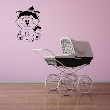 Baby Cat Wall Decal Style And Apply