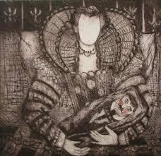 "Polly Dixon on Twitter: """"The Twin"" #printmaking, #artist, #fine art,  #artgallery… """