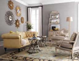 inspired sunburst mirrorin living room