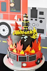 Kara S Party Ideas Firetruck Birthday Party Kara S Party Ideas