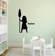 Personalized Moana Decal Nursery Decal Moana Decal Girls Etsy