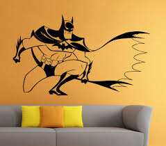 Batman Wall Decal Ideas Home Inspirations
