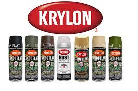 krylon camo paint 6 camo colours