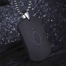 pendant for men male punk jewelry