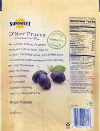 sunsweet d noir pitted prunes 8 oz