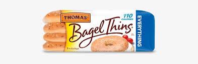 thomas everything bagel thins bagels