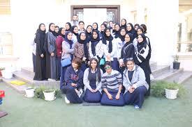 زيارة طالبات مدرسة المحرق الثانوية للبنات بمركز تفاؤل مركز تفاؤل
