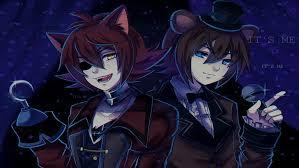 anime anime boys fnaf foxy freddy