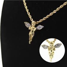 fashion hip hop gold baby angel cherub