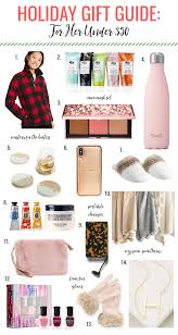 gift guide for her under 50 ine