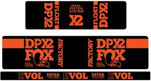 Fox Float Dpx2 Decal Kit Fanatik Bike Co