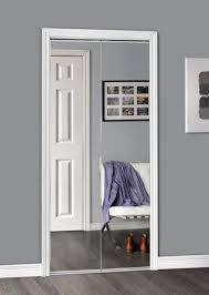 sliding bifold door with polished edge