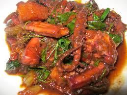 spicy octopus