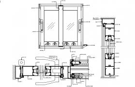 sliding glass door main elevation and