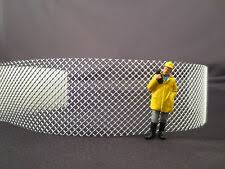 N Scale Chain Link Type Fence Material Very Realistic Look For Sale Online Ebay