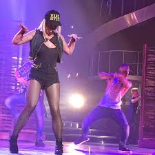 Britney Spears uses new stage outfit to declare love for new boyfriend... ~  ~ TOYA'Z WORLD ~