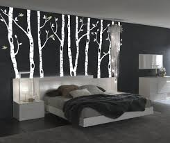 Robot Check Birch Tree Wall Decal Forest Wall Decals Vinyl Wall Decals